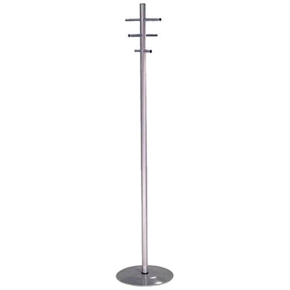 CHROME COAT & HAT STAND