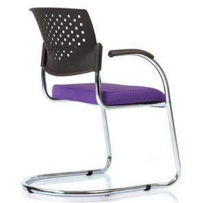 Blend - Sleighbase (Plastic Back & Upholstered Seat)