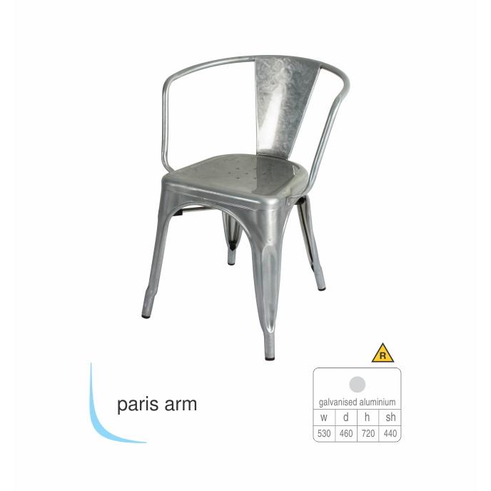 Contemporary Chair - Paris Arm