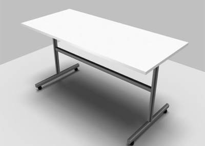 Entrakor Foldup Mobile Tables_white