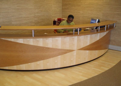 Reception Curved